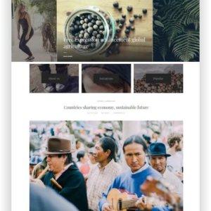 WordPress Blogger Theme