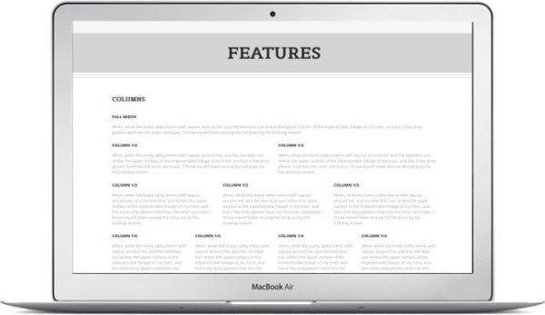 WordPress responsives Blog Thema