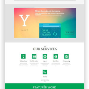 WordPress responsive Blog Theme
