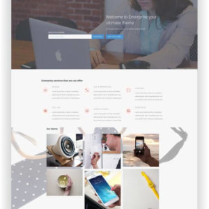 WordPress Multipurpose Corporate Theme