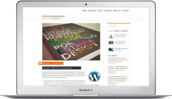 WordPress Business Portfolio Website