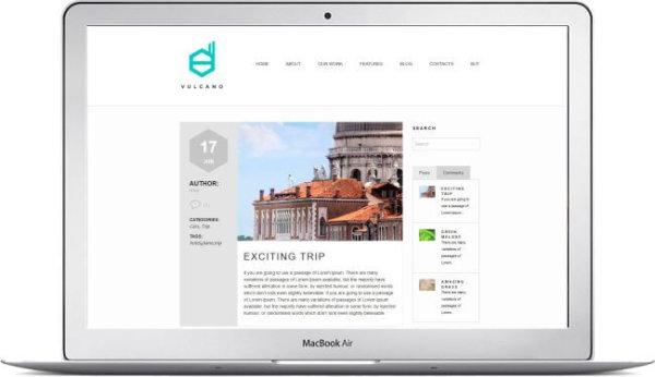 WordPress Creative Company Theme