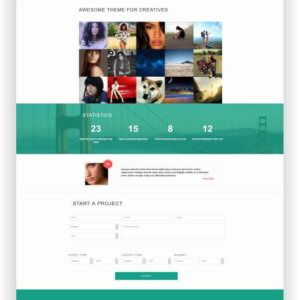 WordPress Creative Company Theme