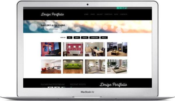 WordPress Design Portfolio