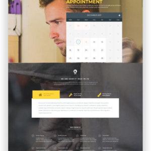 WordPress Worker Theme