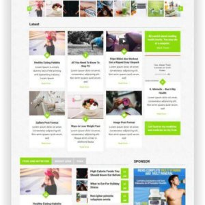 WordPress Magazine Theme for Health