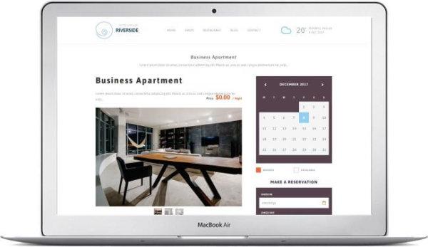 WordPress Resort and Hotel Theme