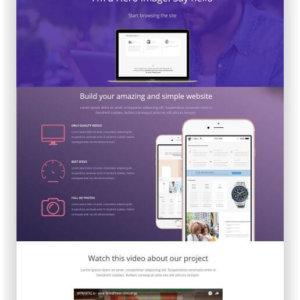 WordPress Landing Page Daylight
