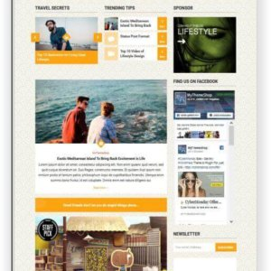 WordPress Lifestyle Magazine Topic
