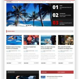 WordPress Blog and Magazine Theme
