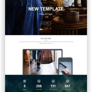 WordPress modern Blog Theme