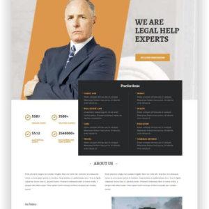 WordPress Lawyer Website