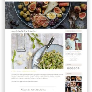 WordPress Recipe Blog Template