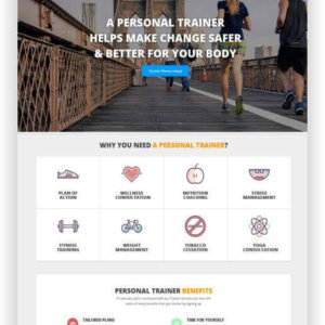 WordPress Personal Trainer Theme