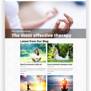 Yoga Website WordPress