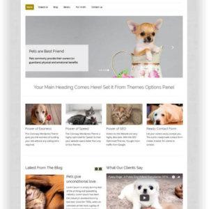Simple Pets Blog Theme