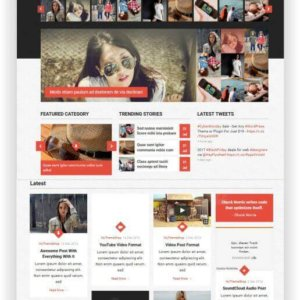 WordPress Multimagazine Theme