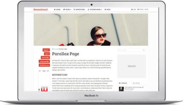 WordPress Multitheme for Blog and Magazine