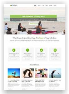WordPress Yoga Style Theme