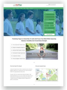 Yoga Teacher WordPress Theme