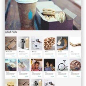 WordPress minimalist Blog Theme