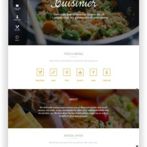 WordPress Recipeblog Theme