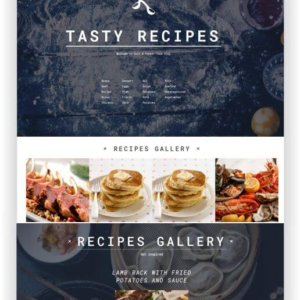 WordPress Recipes Blog Theme