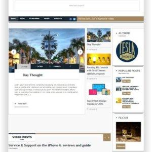 Modern WordPress Blog Template