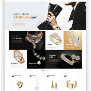 Magento Jewellery Shop Theme