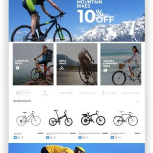 Magento Cycling Template