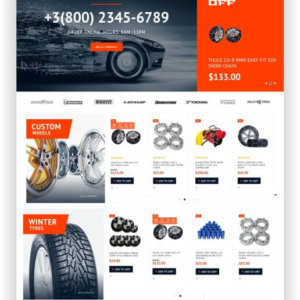 Magento Car Part Theme