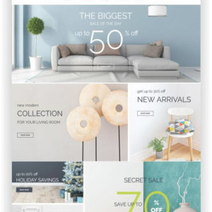Magento Home Decor Shop Template