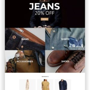 Best Magento Fashion Shop Theme
