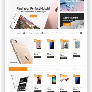 Magento Mobile Store Theme