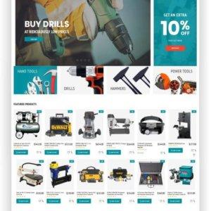 Magento Tool Store Theme