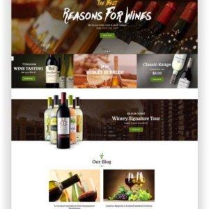Magento Wein Shop