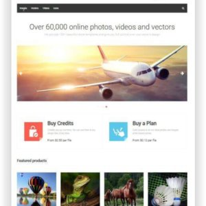 PrestaShop Photostore Theme