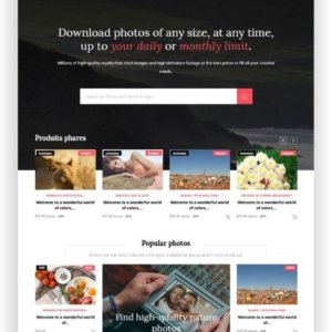PrestaShop Art Photo Theme