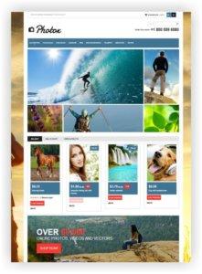 PrestaShop Photostock Template