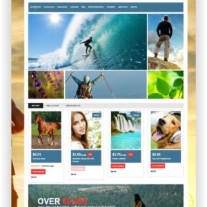 PrestaShop Photostock Template