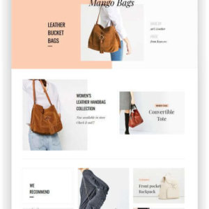 PrestaShop Handbag Store Theme