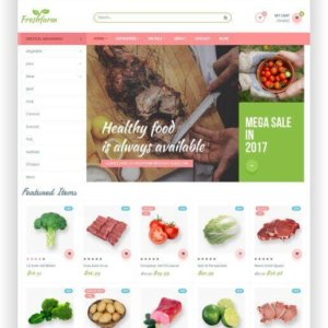 PrestaShop Food Store Template