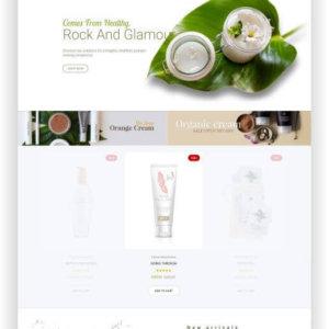 PrestaShop Organic Cosmetics Template