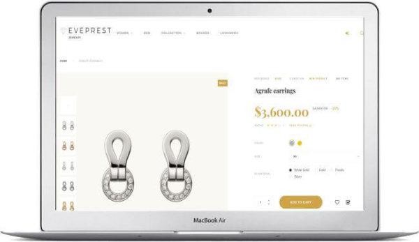 PrestaShop Jewellery Store Topic
