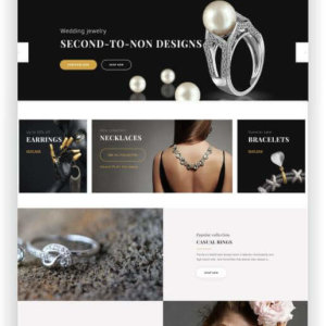 PrestaShop Jewellery Store Topic