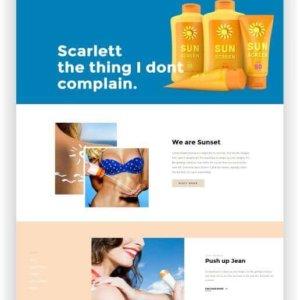 PrestaShop Sunscreen Store Theme