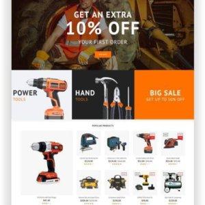 PrestaShop Tool Store Template