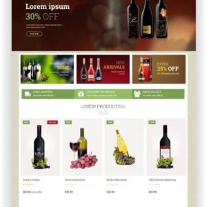 PrestaShop Wine Store Theme