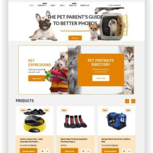 Shopify Animal Pets Store