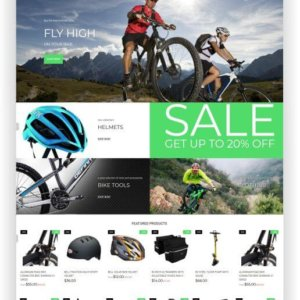 Shopify Bike Shop Theme